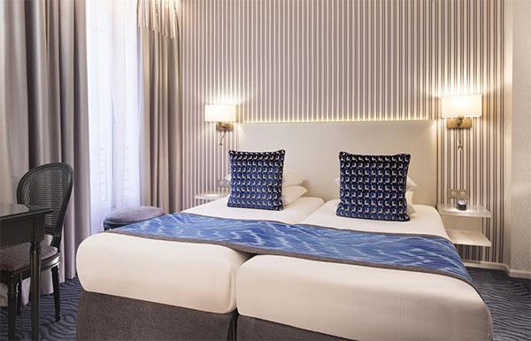Paris Marathon Hotel Zimmer
